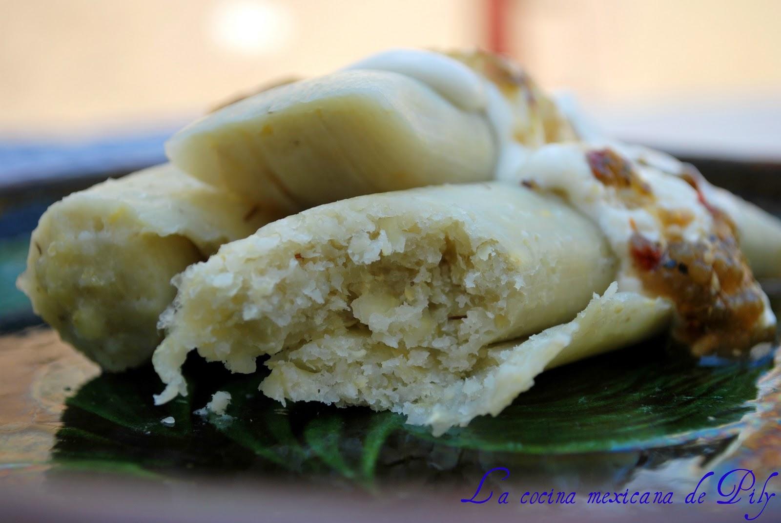 Uchepos Michoacanos  La Cocina Mexicana de Pily