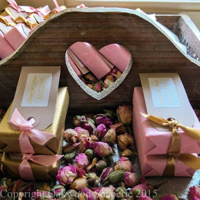 Wedding favours by Oakwood Soaperie