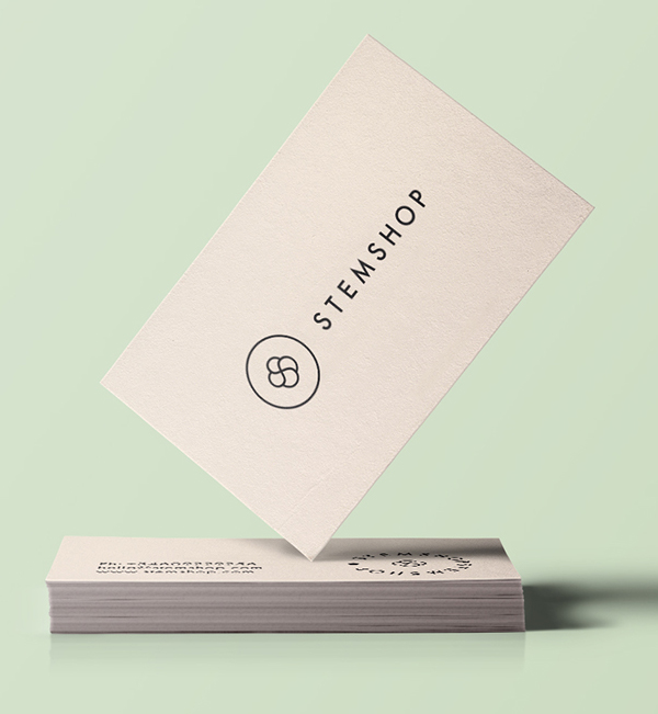 Inspirasi Desain Branding Identity - Stemshop Branding