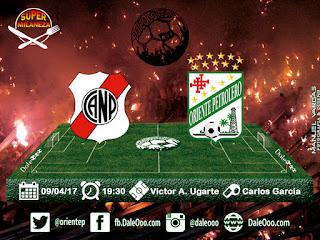 Nacional Potosí vs Oriente Petrolero - Fecha 10 Torneo Apertura 2017 - Super Milaneza - DaleOoo Web Oficial Club Oriente Petrolero