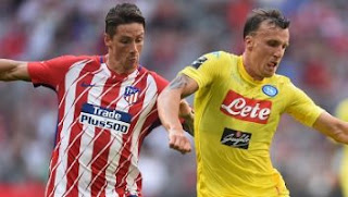 Video Gol Atletico Madrid vs Napoli 2-1 Audi Cup 2017