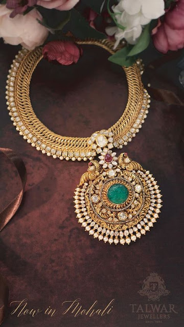 Pachi Antique Choker by Talwar Sons