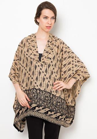 Model Baju Batik Atasan Yang Terbaru