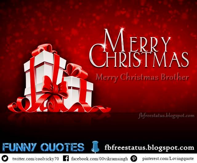 Christmas Messages For Brother, Christmas Wishes For Brother