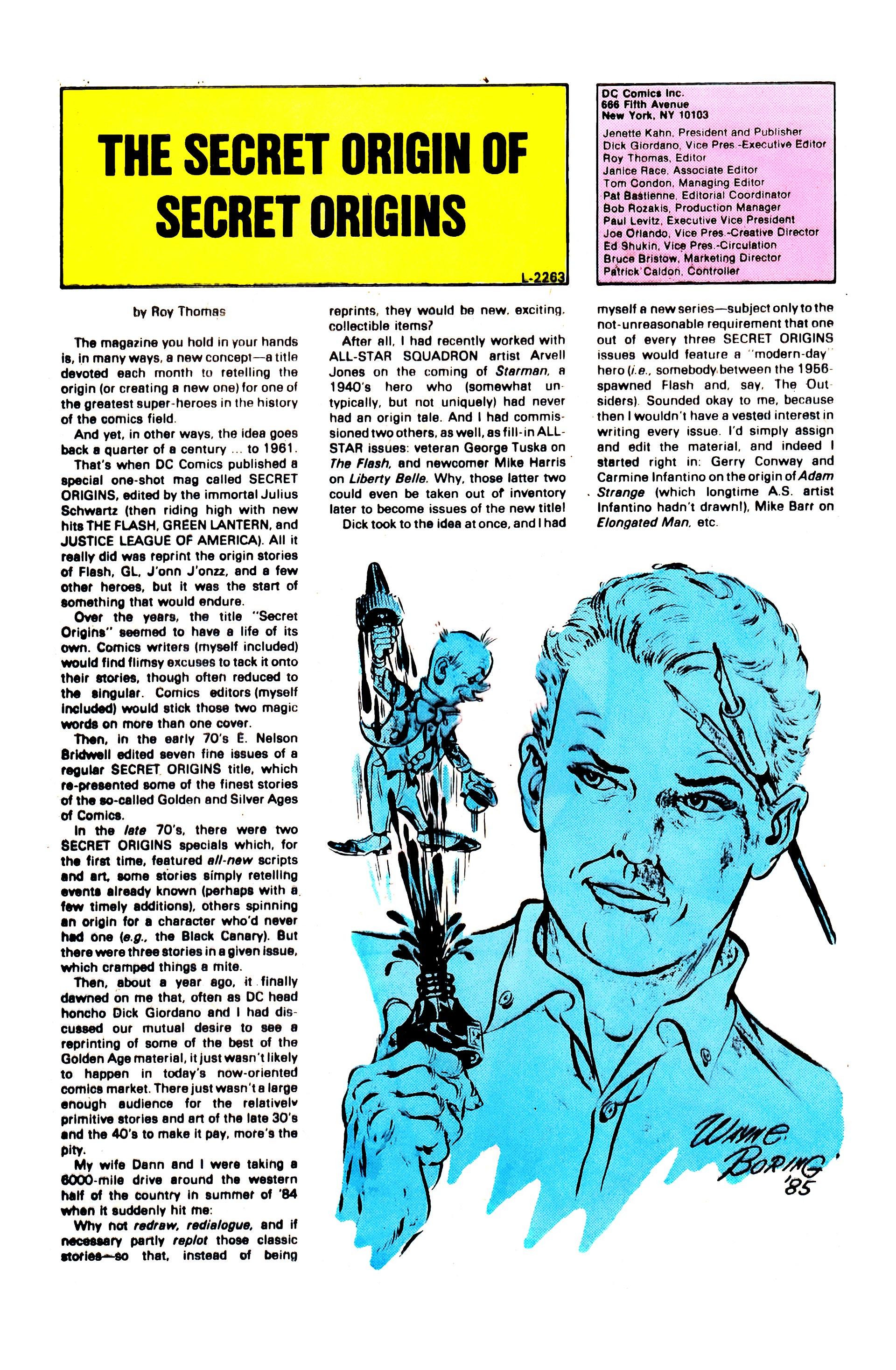 Read online Secret Origins (1986) comic -  Issue #1 - 32