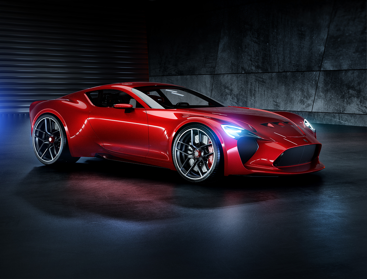Bold Ferrari 612 Gto Iii Renderings Make Us Wish For A