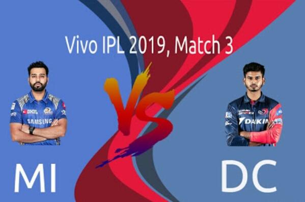 IPL 2019 MI vs DC