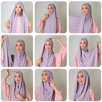 Tutorial Hijab Syar'i SImple