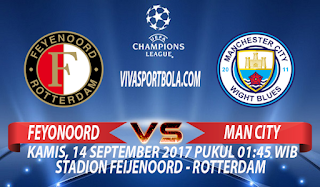 prediksi feyenoord vs manchester city 14 september