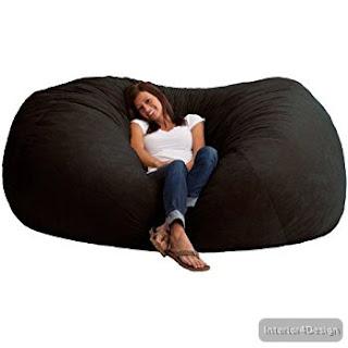 Giant Bean Bag Chair Lounger 4