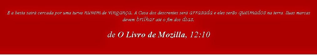 O Livro de Mozilla, trechos, about:mozilla, blog mortalha