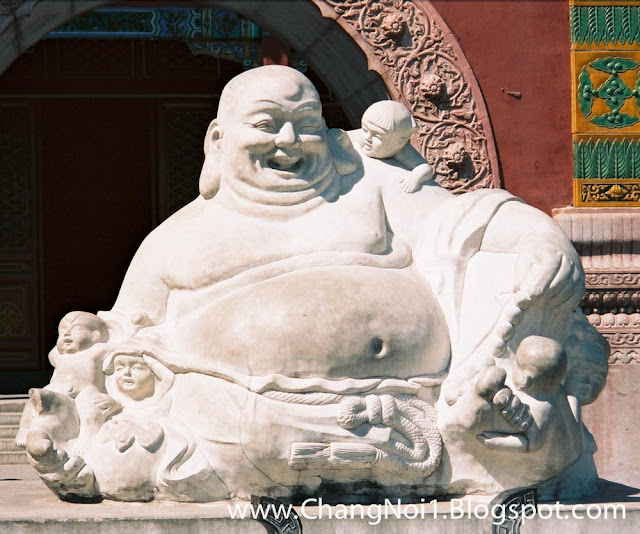 Laughing Buddha in China