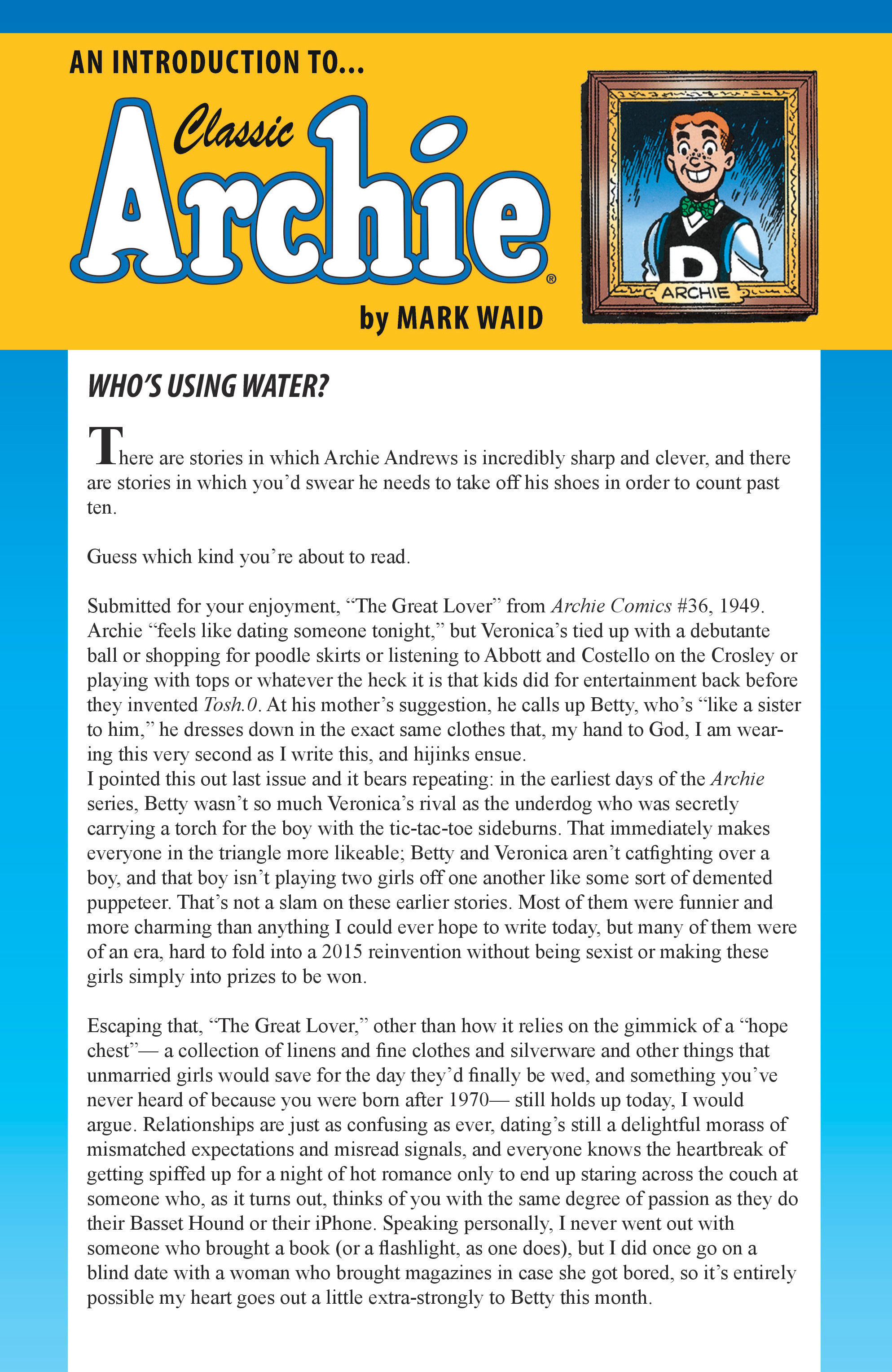 Read online Archie (2015) comic -  Issue #4 - 24