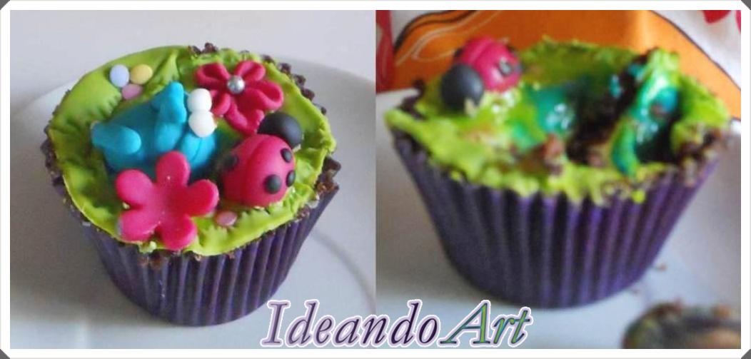 Cupcake mordisco
