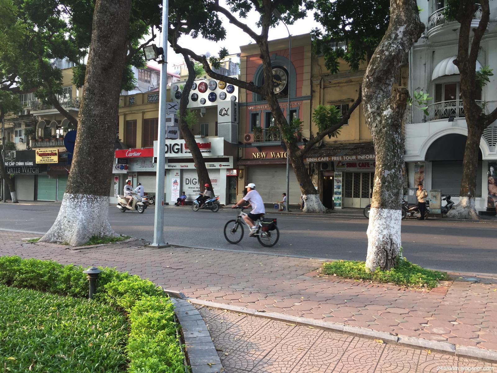 ベトナムのサイクリング風景 Vietnam-cycling