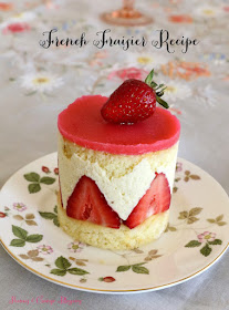 Le Fraisier-A French Strawberry Cake