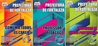 Apostila Prefeitura de Fortaleza seleção pública professores substitutos SME