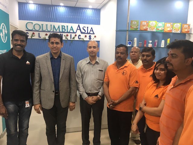 Columbia Clinic launched at Embassy TechVillage in Bangalore