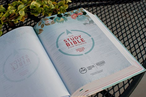 CSB Study Bible For Women inside pages