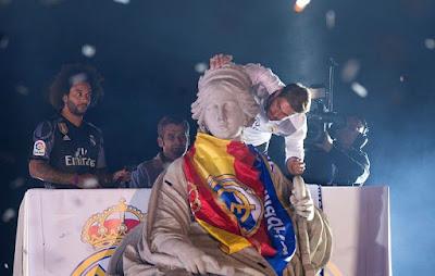 Pesta Perayaan Juara Real Madrid Di Anggap Tidak Terpuji