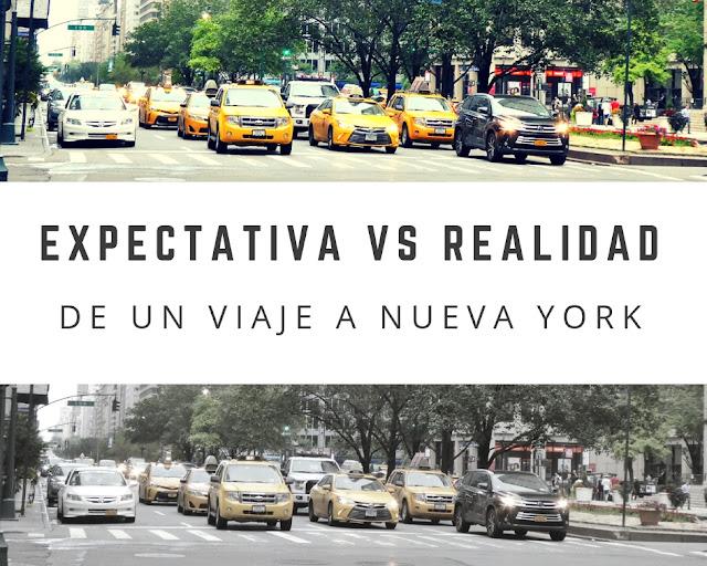 expectativa realidad de viajar a nueva york