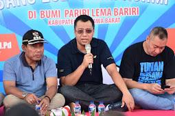 Jumpa Bang Zul Rohmi Di Sumbawa (KSB) Bahas Implementasi NTB Bersih Dan Melayani