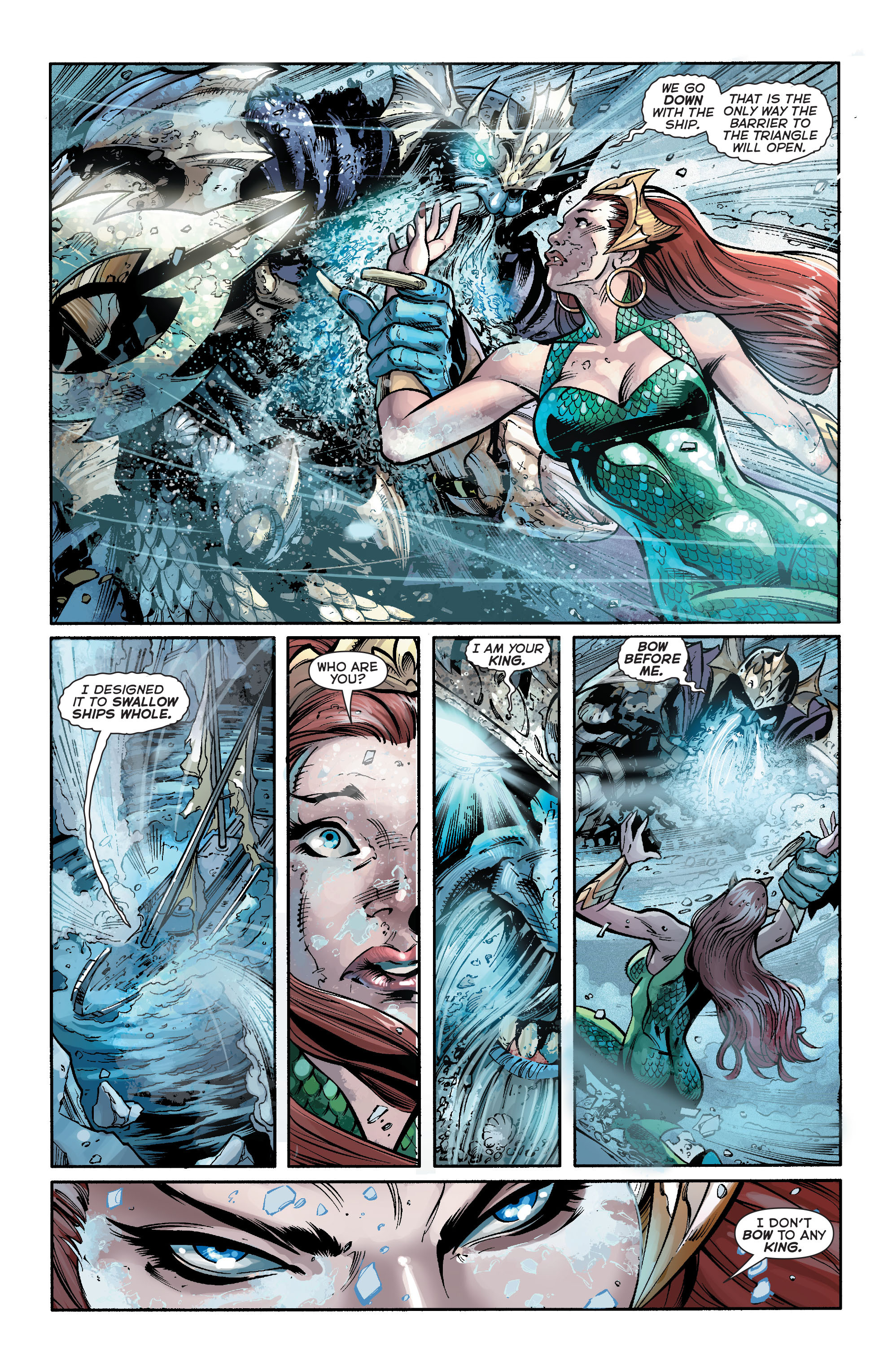 Read online Aquaman (2011) comic -  Issue #19 - 15
