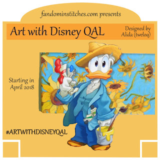 Art with Disney QAL