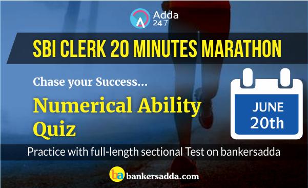 SBI 20 Minutes Marathon of Quantitative Aptitude | Chase your Success