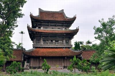 Cho thuê xe đi chùa Keo - Thái Bình 1
