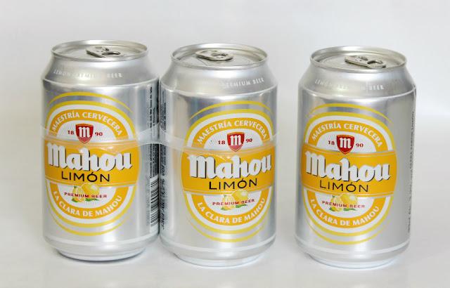 degustabox agosto Cerveza con limón Mahou