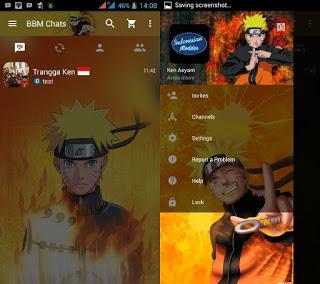 BBM Mod Naruto 2.12.0.11 Clone Terbaru Apk 2016
