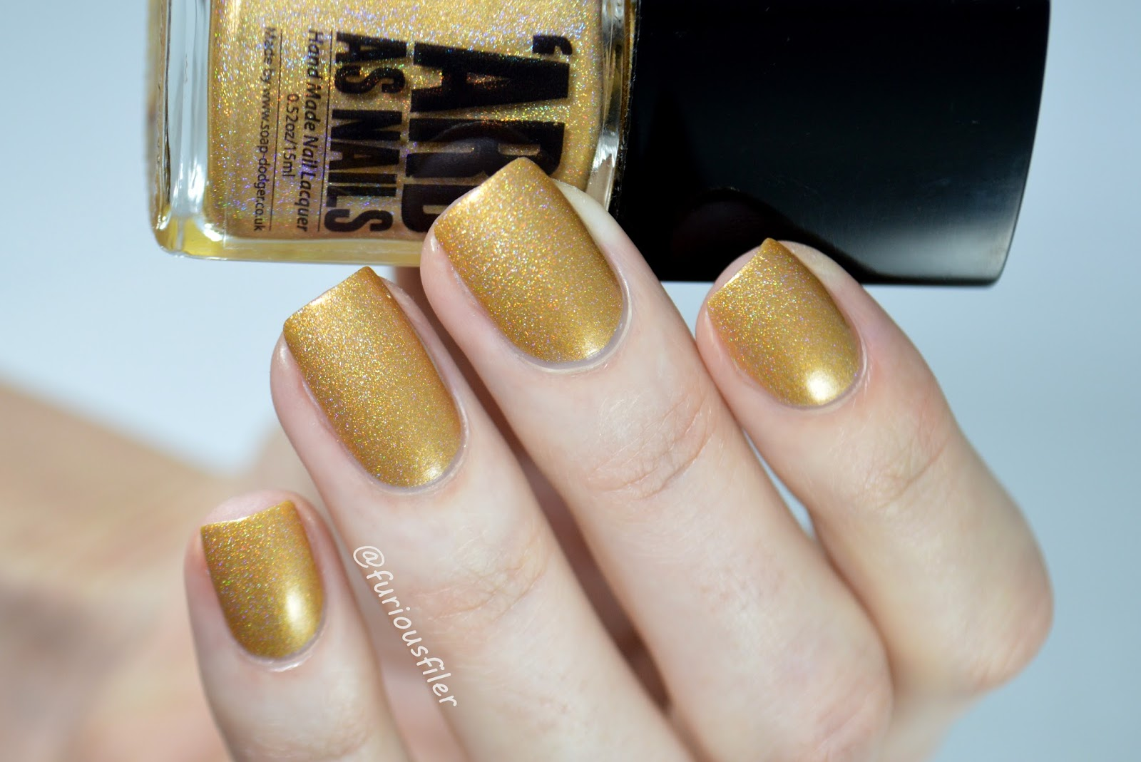 Ard As Nails Angel Hashtag Collection Yellow Gold