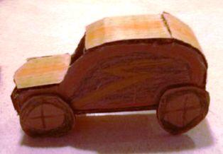 Ajari Anak Bikin Sendiri Mobil Mainan dari Kardus