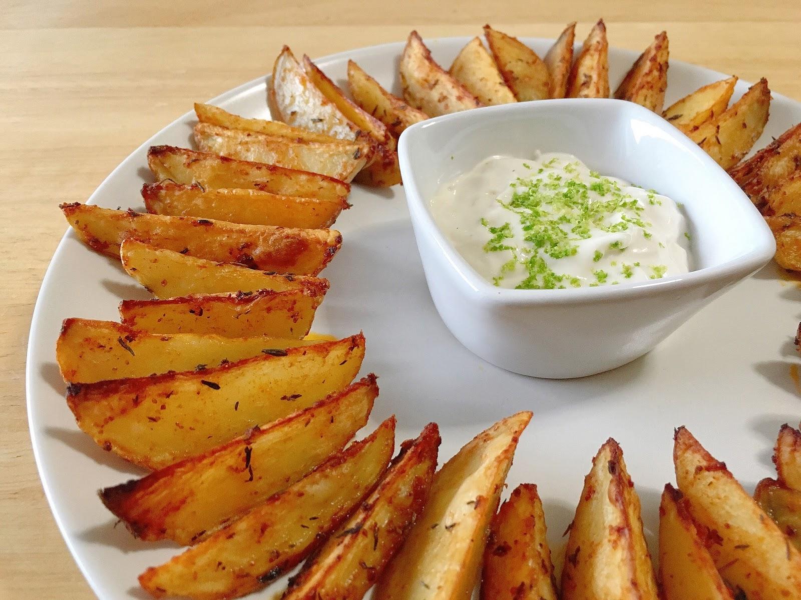 Mute food patatas especiadas al horno preparaci n 10 - Patatas pequenas al horno ...