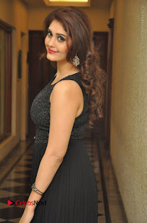 Actress Surabhi Stills in Black Long Dress at turodu Audio Launch  0060.JPG