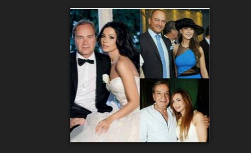 فنانات عربيات تزوجن برجال أكبر منهن بالسن طمعاً في المال و منهم من فشل في زواجه و ندم عليه