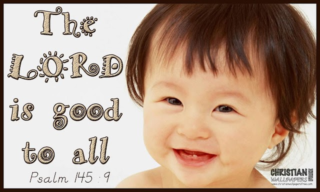 The LORD  is good to all (Tamil and English Bible Verse)