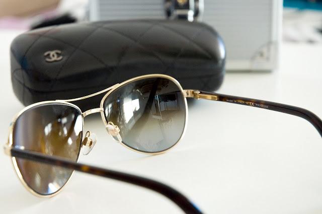 etui na okulary Chanel