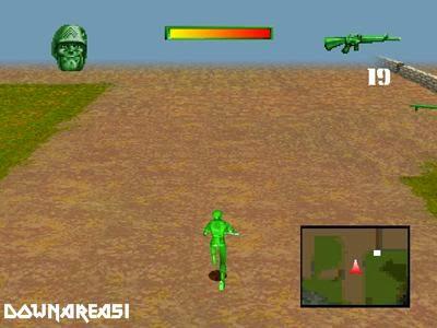 Army Men Sarges Heroes Gameplay Screenshot Army Men Sarges Heroes PS1 ISO