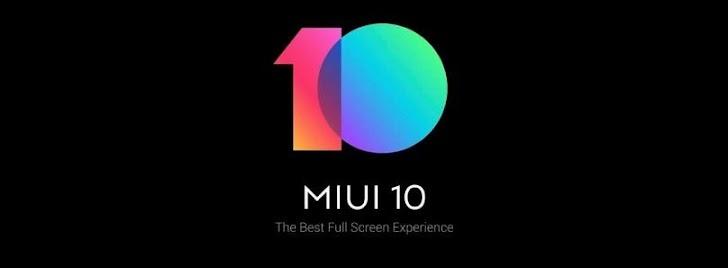 Jadwal Rollout Resmi MIUI 10 Global Beta ROM Xiaomi