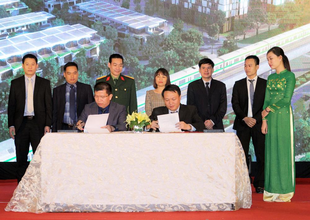 Lễ ký kết hợp tác giữa Chủ đầu tư Lũng Lô 5 và Ngân hàng TMCP Phương Đông Việt Nam