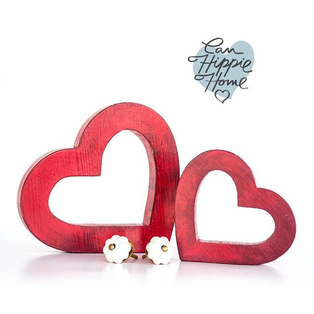 decoración con corazones