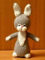 patron gratis conejo amigurumi de punto | free knit amigurumi pattern rabbit