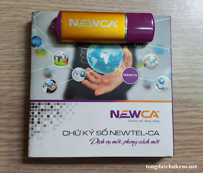BẢNG GIÁ Chữ ký số NEW-CA (Newtel-ca)
