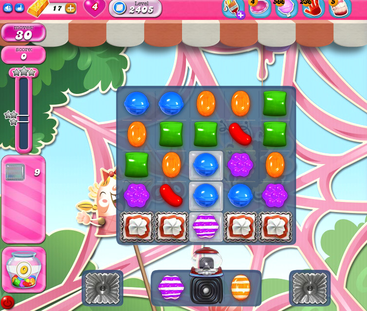 Candy Crush Saga level 2405