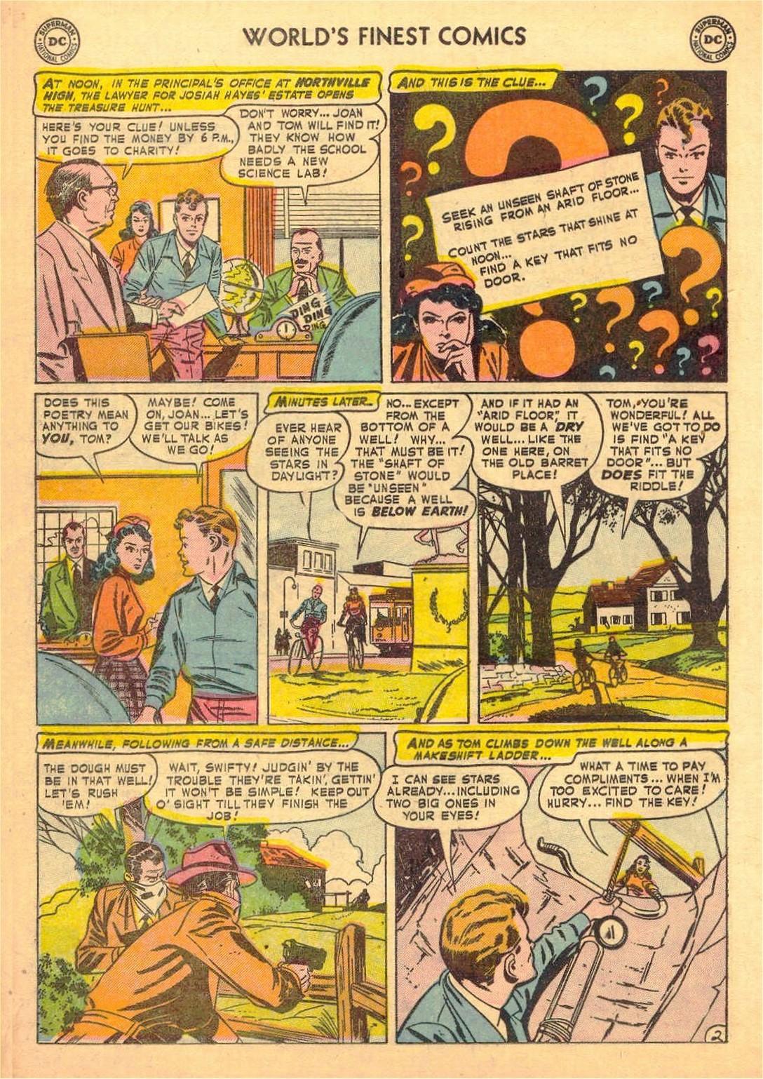 Read online World's Finest Comics comic -  Issue #58 - 42