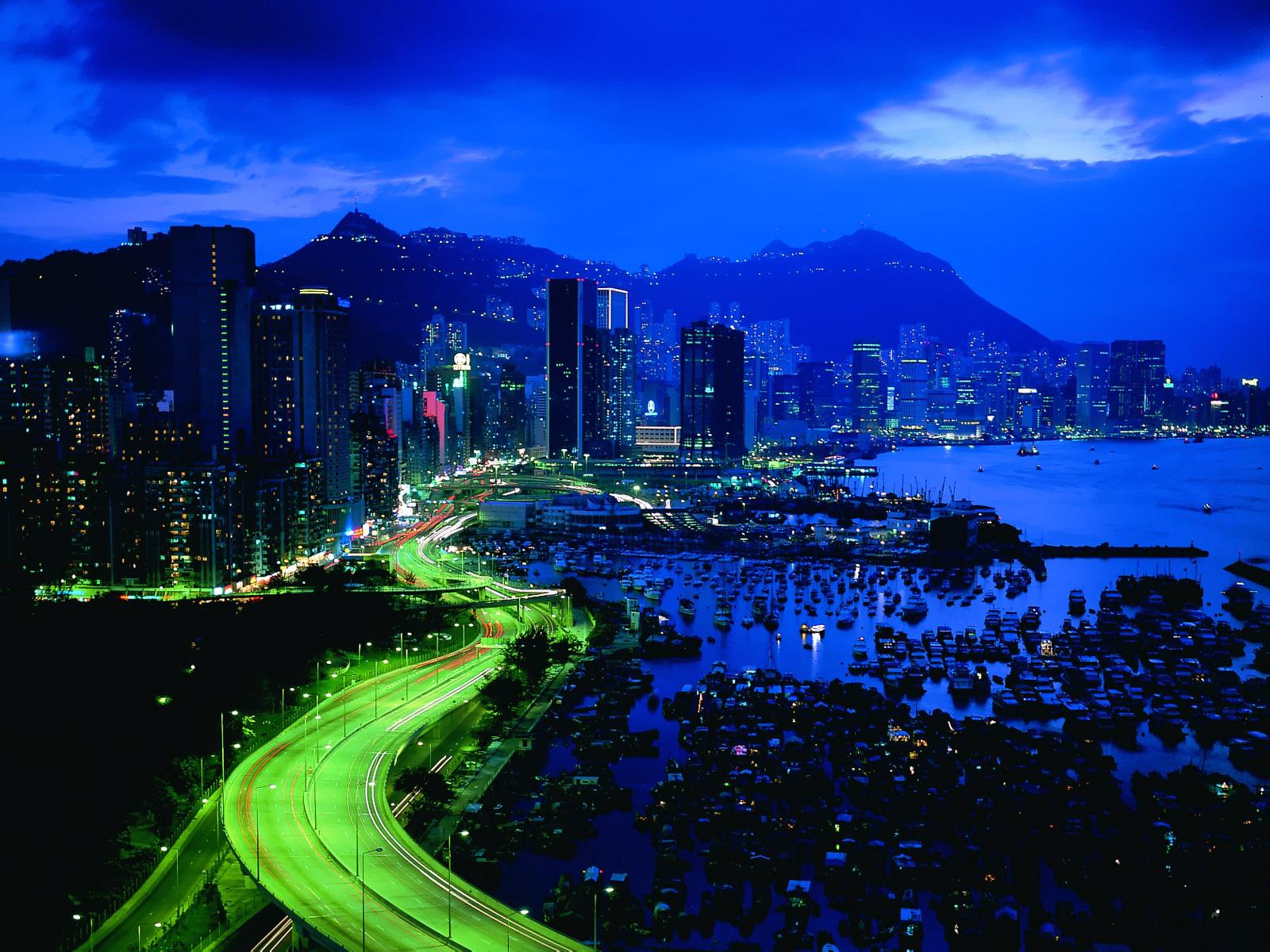 Night City Lights - HD Wallpapers - Techdude1987's blog