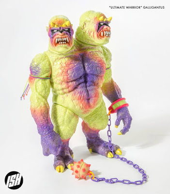 Designer Con 2017 Exclusive Ultimate Warrior Galligantus Vinyl Figure by Justin Ishmael