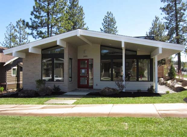 Muddy River Design | Mid Century Modern House Plan – Bend, Oregon